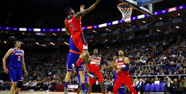 Basket - NBA - NBA:  les Wizards battent New York sur le fil à Londres