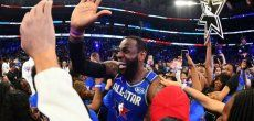 NBA: L'équipe de LeBron James remporte le All-Star Game