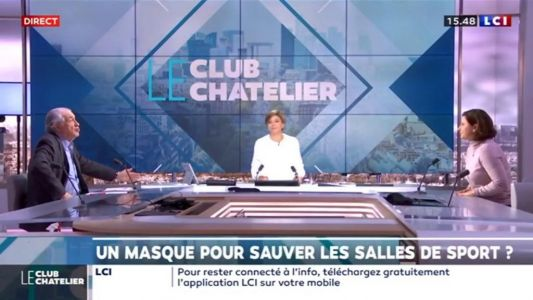 REPLAY - Le club Le Chatelier du vendredi 22 janvier:  l'interview de Roxana Maracineanu