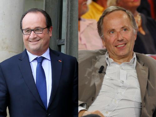 La reconversion de François Hollande ? Dire du bien de Fabrice Luchini !
