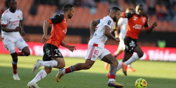Foot - L1 - Ligue 1 : l'OL encore accroché à Lorient