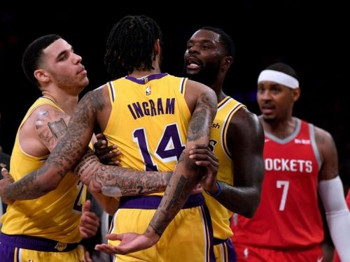NBA - Ingram suspendu quatre matches après la bagarre durant Lakers-Houston