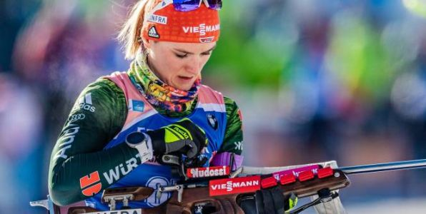 Biathlon - CM - Coupe du monde:  Denise Herrmann domine la poursuite de Soldier Hollow
