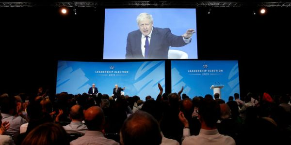 Objectif Downing Street : ultimes plaidoyers des deux candidats Johnson et Hunt