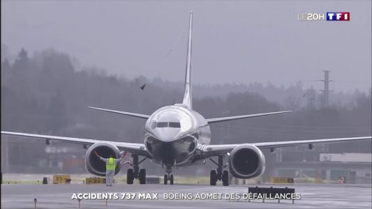 Accidents des 737 Max:  Boeing admet des défaillances