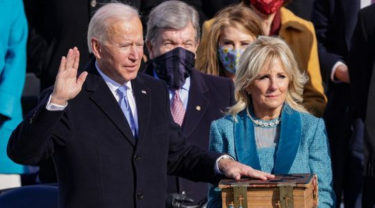 EN IMAGES. États-Unis:  revivez les moments forts de l'investiture de Joe Biden