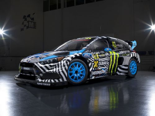 PHOTOS - Ford Focus RS RX, la voiture de Ken Block vendue 200.000 dollars