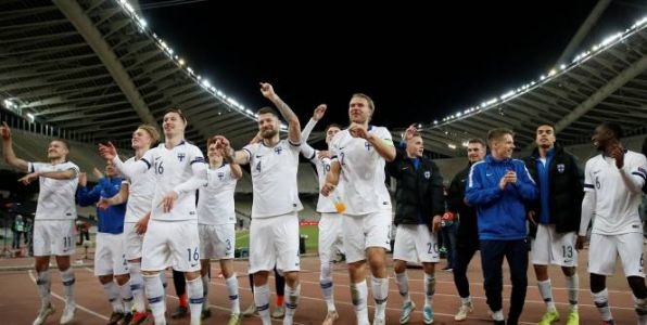 Foot - L. nations - Ligue des nations:  la Finlande battue mais promue