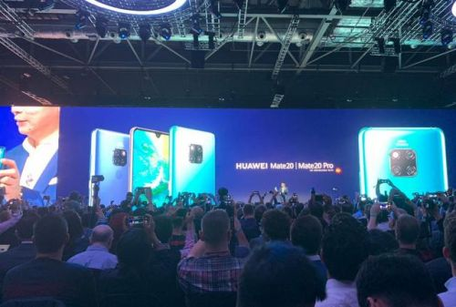 REVIVEZ - Keynote Huawei:  le Mate 20 Pro, concurrent de l'iPhone, arrive en France pour 999 €