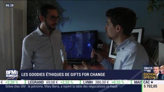 La France qui bouge: Les goodies éthiques de Gifts for Change - Julien Gagliardi - 16/10