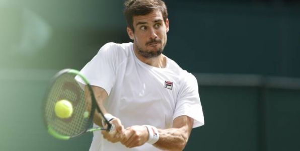 Tennis - ATP - Anvers - Anvers:  le superbe point qui envoie Guido Pella en quarts de finale