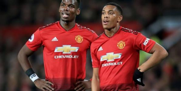 Foot - C3 - MU - Compositions de Manchester United-Copenhague : Paul Pogba et Anthony Martial titulaires