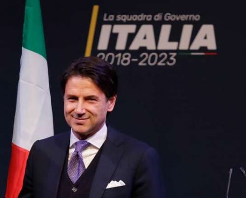 Italie:  Giuseppe Conte, l'homme du consensus impossible?