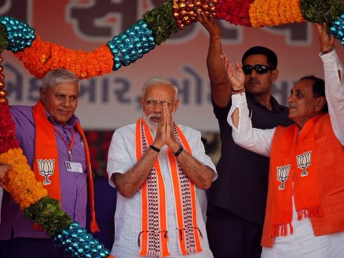 Législatives en Inde: Modi en appelle à la ferveur nationaliste