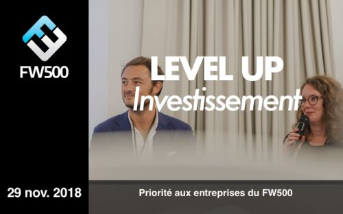 CONFÉRENCE LEVEL UP Investissement