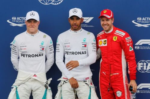 F 1:  Lewis Hamilton signe la pole position du Grand Prix de France