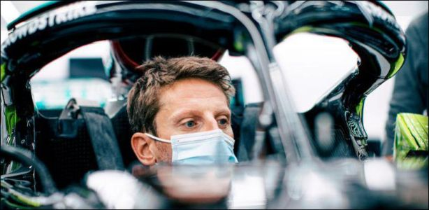 Course automobile - Romain Grosjean de retour en F1. le temps d'un test