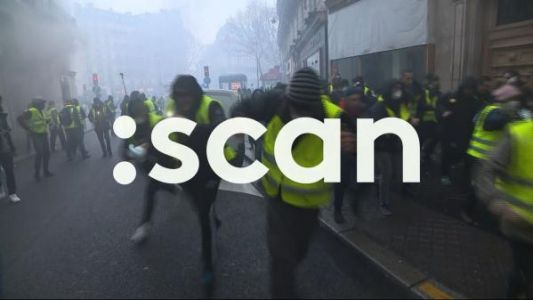 "VIDEO.: SCAN:  paroles de ""gilets jaunes"" sur Franceinfo"