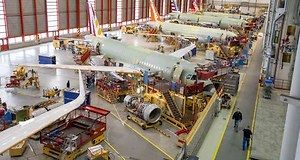Airbus a encore battu son propre record de production en 2017