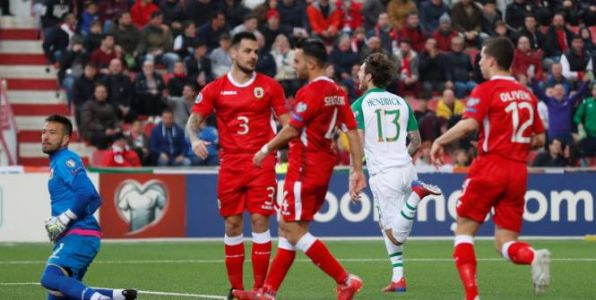 Foot - Euro - Qualifications Euro 2020:  l'Irlande assure l'essentiel à Gibraltar