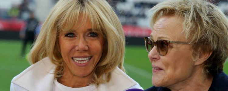 Football: Brigitte Macron et Muriel Robin lancent un match mixte à Reims