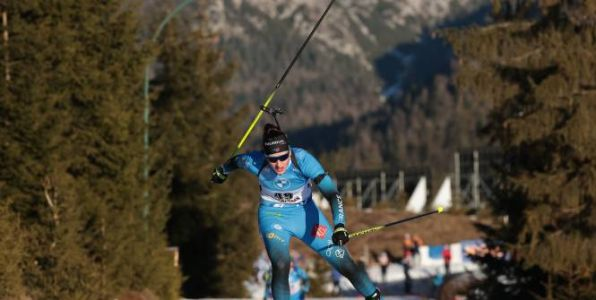 Biathlon - CM - Julia Simon remporte la mass start d'Anterselva