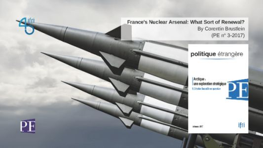France's Nuclear Arsenal: What Sort of Renewal?