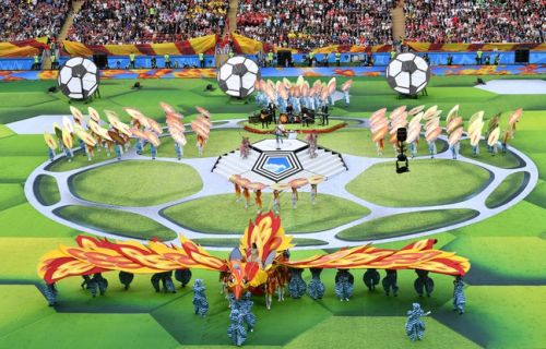 VIDEO. Coupe du Monde 2018: Casillas, Ronaldo ou encore Robbie Williams. La cérémonie d'ouverture en images