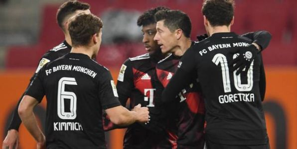 Foot - ALL - Le Bayern Munich assure l'essentiel contre Augsbourg