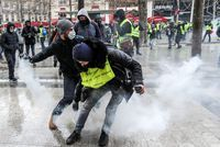 Gilets jaunes: 179 interpellations à Paris, 144 gardes à vue