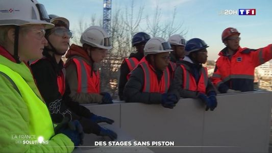 La France des solutions:  des stages sans piston