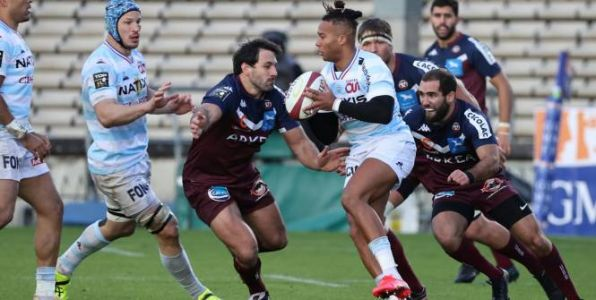 Rugby - Top 14 - Le Racing 92 surprend Bordeaux-Bègles en Top 14