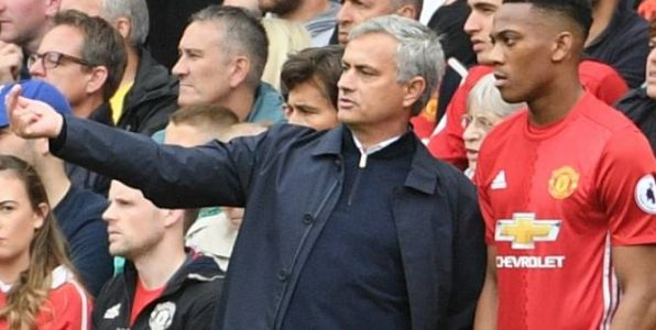 Foot - ANG - MU - Manchester United:  José Mourinho satisfait du rendement d'Anthony Martial