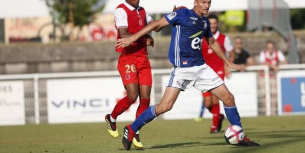 Foot - L1 - Strasbourg - Strasbourg:  Ludovic Ajorque absent pour Amiens