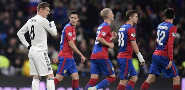 Ligue des champions - Le Real Madrid surpris par le CSKA Moscou