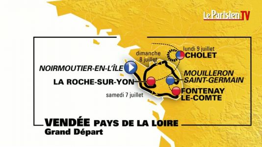 Tour de France 2018:  six étapes de montagnes au menu