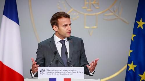 La satisfaction des Français envers l'action d'Emmanuel Macron au plus bas, selon un sondage