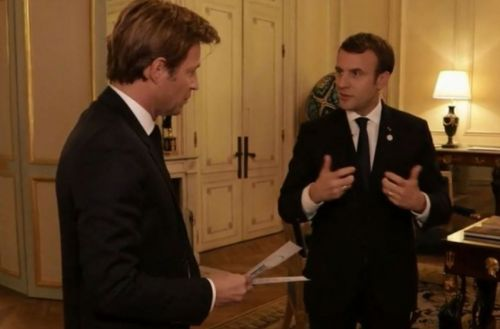 Audiences télé:  l'interview de Macron derrière le JT de TF1