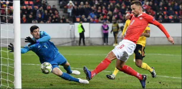 Football / Ligue des nations - La Suisse renverse la Belgique et file en demies