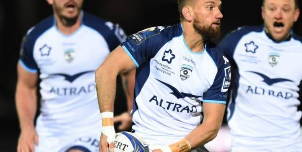 Rugby - CE - Montpellier:  L'ouvreur Aaron Cruden, blessé, sera absent plusieurs semaines