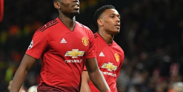 Foot - ANG - MU - Composition de Manchester United : Paul Pogba et Anthony Martial titulaires face à West Ham