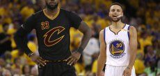 Basket-NBA: All Star Game: LeBron James et Curry capitaines