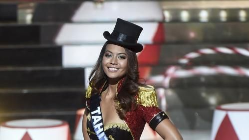 Vaimalama Chaves, Miss Tahiti, est sacrée Miss France 2019