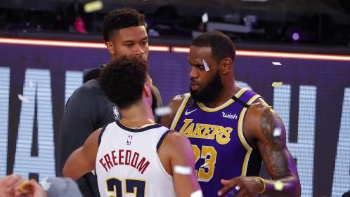 NBA:  LeBron James propulse les Lakers en finale