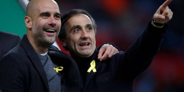 Foot - League Cup - Manchester City:  Guardiola arbore un ruban jaune malgré la procédure de la FA