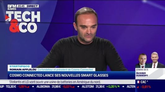 Start up & co:  Cosmo Connected lance ses nouvelles smart glasses - 18/10