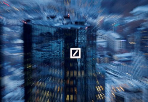 "Deutsche Bank va mettre sur pied une ""bad bank"" de 50 milliards d'euros"