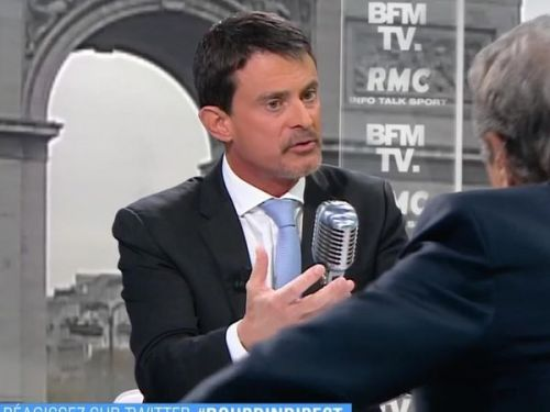 "Valls accuse le journaliste Edwy Plenel d'""appel au meurtre"""