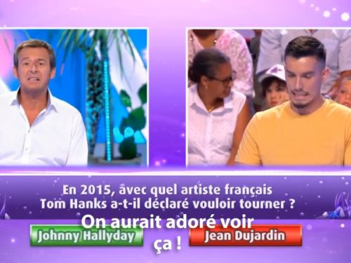 VIDEO. Quand Tom Hanks voulait tourner un film avec Johnny Hallyday, son voisin de Los Angeles