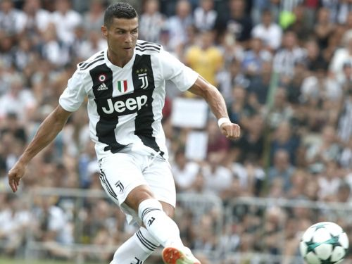 Video - Le premier but de Cristiano Ronaldo sous les couleurs de la Juventus